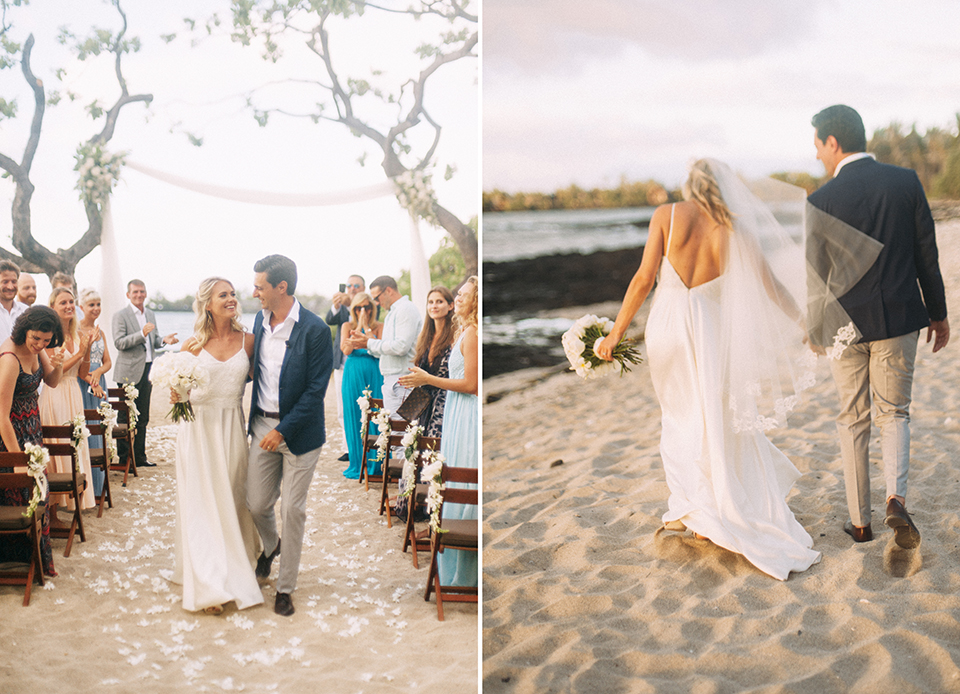 Kumukea Beach Wedding